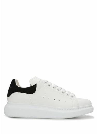 Alexander McQueen Alexander McQueen Oversize   Kadın Deri Sneaker 101611793 Siyah